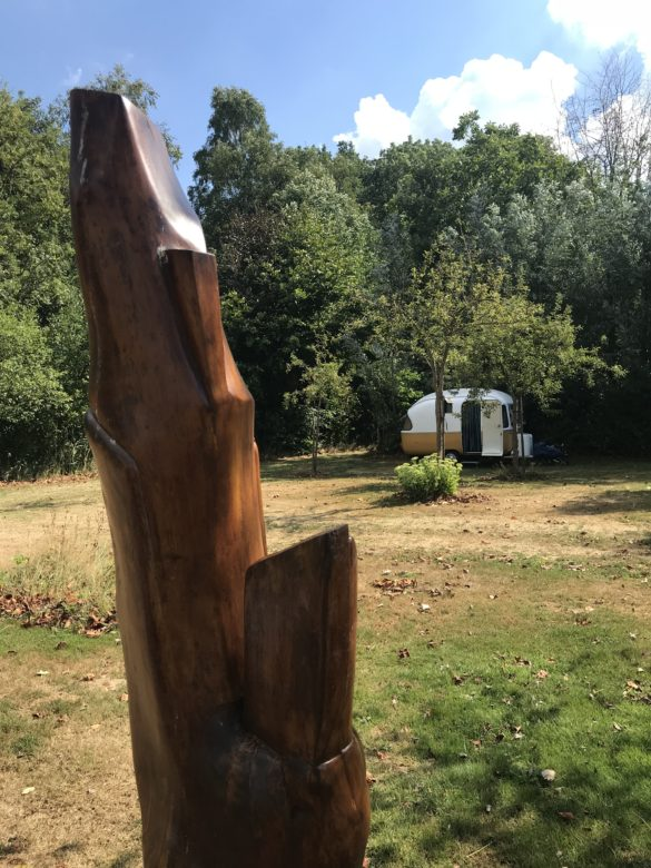 Campsite Eco-tourist farm De Biezen | Art everywhere on the campsite!