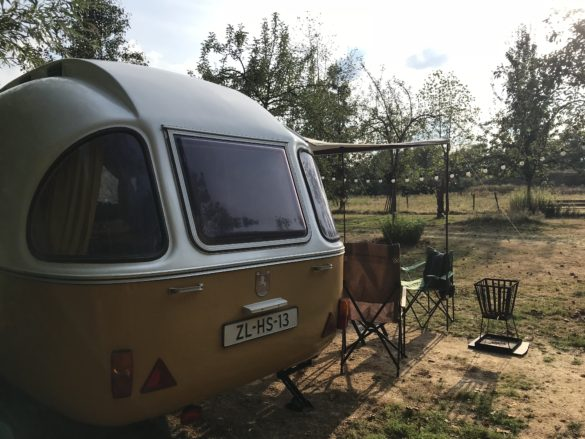 Campsite Eco-tourist farm De Biezen | Our spot at campsite De Biezen