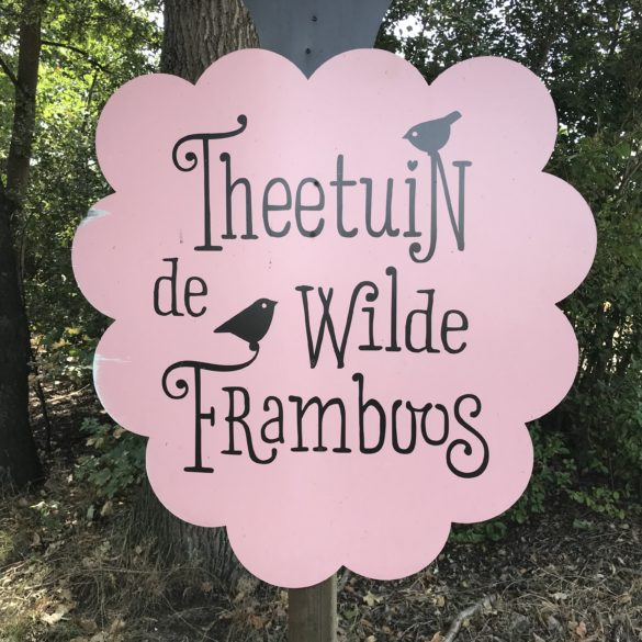 Campsite Eco-tourist farm De Biezen | Tea garden 'The wild raspberry'